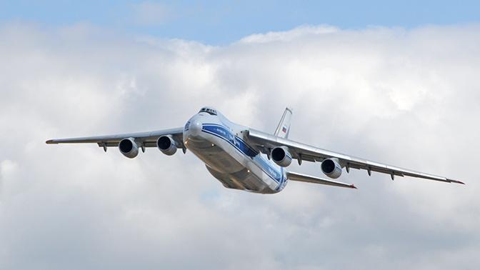 Украина потребовала переименовать самолет Ан-124