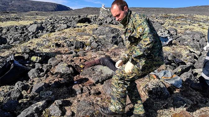 В тундре в Мурманской области нашли тело туриста, который пропал месяц назад