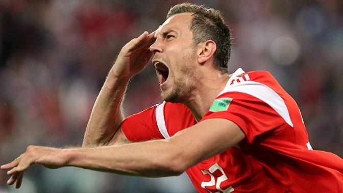 Дзюба вошел в тройку лучших бомбардиров в истории сборной РФ
