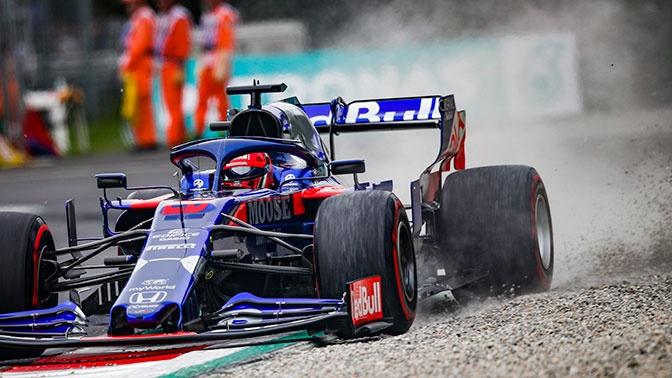 Квят рассказал, почему сошел с гонки Гран-при Италии