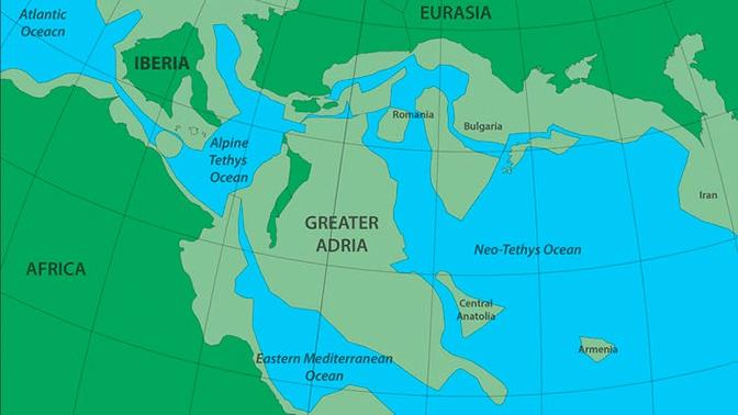 Ученые нашли затерянный континент глубоко под Европой