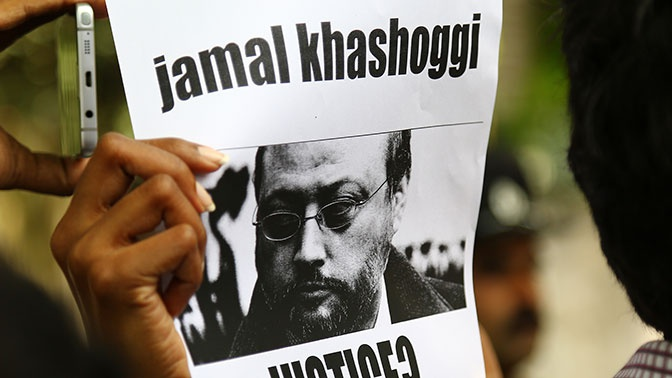 Раскрыты последние слова журналиста Хашогги перед смертью