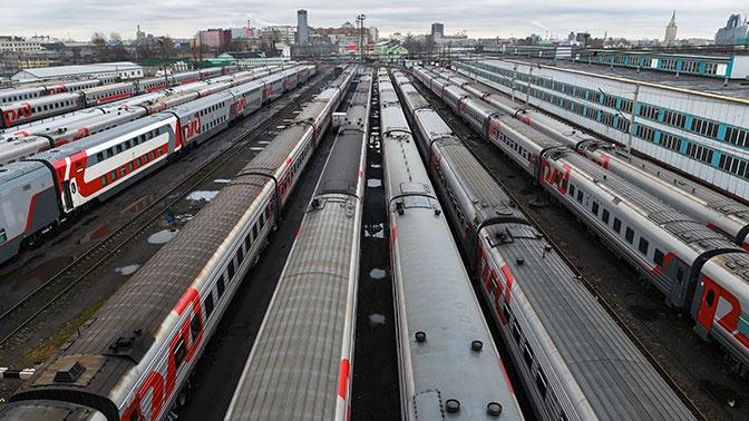 Загадочный состав: в Сети обсуждают маршрут поезда из Москвы в Москву