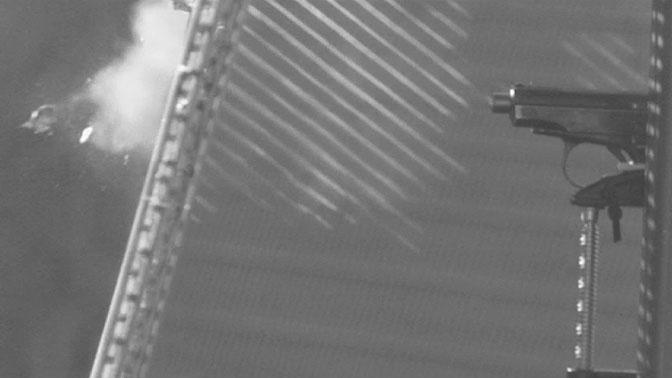 Пулерассеивающий «МАХАОН»: кадры испытаний забора авиабазы Хмеймим