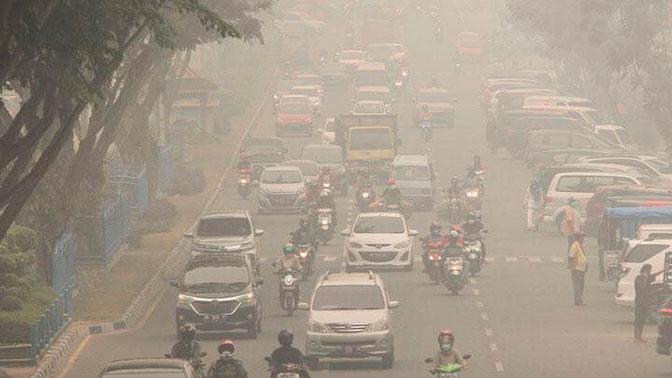В удушающем плену: дым от лесных пожаров накрыл Индонезию, Сингапур и Малайзию