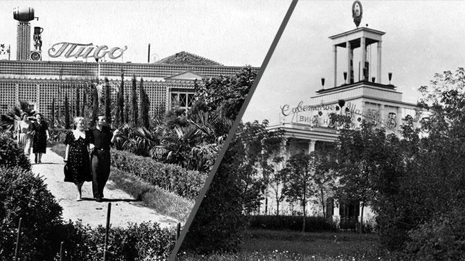 «Главликерводка» и «Главпиво»: уникальные фото исчезнувшего оазиса отдыха на ВДНХ