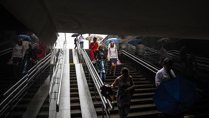 Из-за низкого атмосферного давления москвичам угрожает гипоксия
