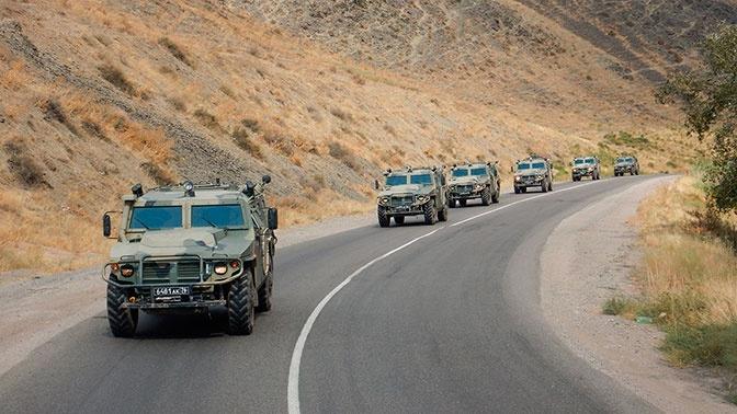 «Центр-2019»: подразделения ВС РФ и Казахстана совершили марш в район выполнения задач