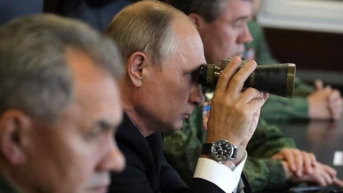 Путин посетит активную фазу учений «Центр-2019»