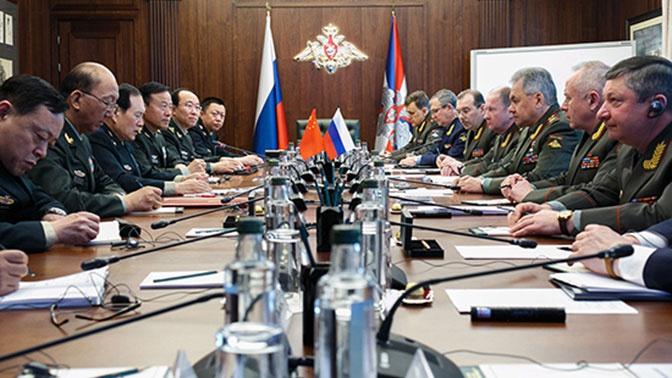 Китай и Россия разработали план сотрудничества в военной сфере