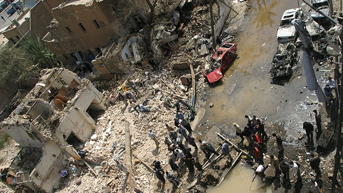 Последствия бомбежек США: в организме умерших детей в Ираке найден радиоактивный уран