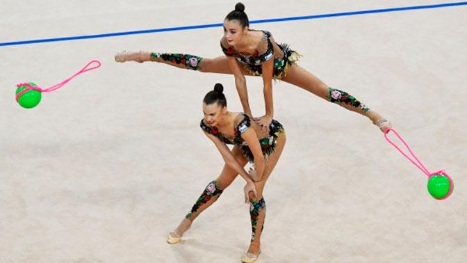 Российские гимнастки стали лучшими на ЧМ в групповом многоборье