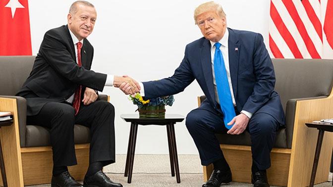 Трамп и Эрдоган провели телефонный разговор