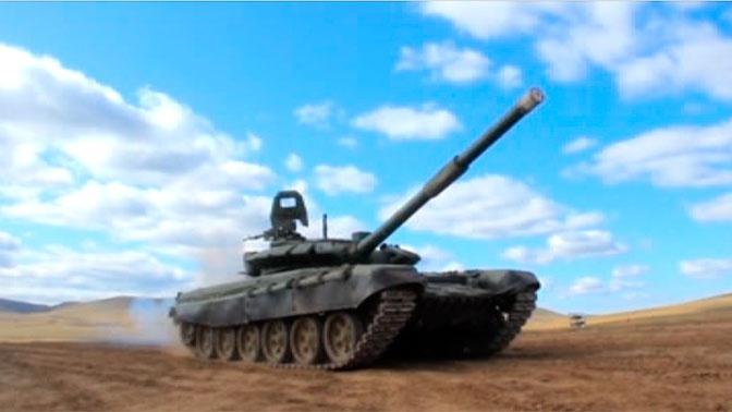 Подготовка экипажей к «Танковому биатлону» в Бурятии: лучшие моменты