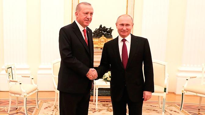 Россия и Турция подписали соглашение о расчетах в нацвалютах