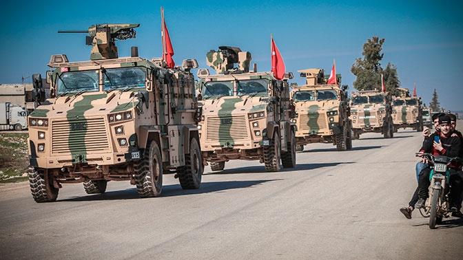 СМИ: турецкая артиллерия нанесла удары по «объектам террористов»  в городе Телль-Абъяд