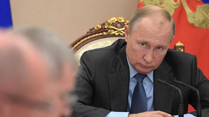 Путин назвал главное качество для руководителя