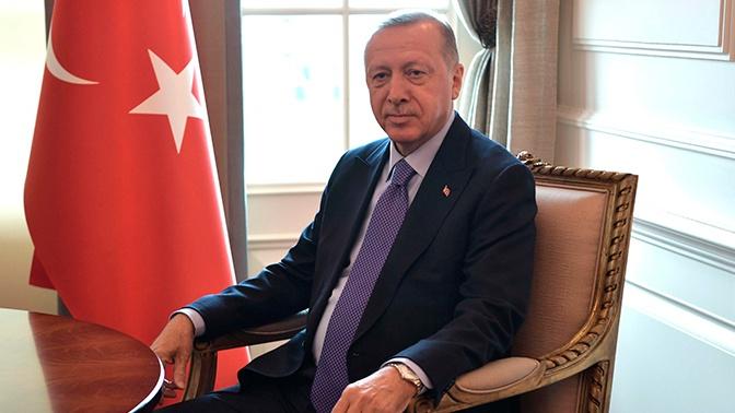 Эрдоган обосновал право Турции проводить военную операцию в Сирии