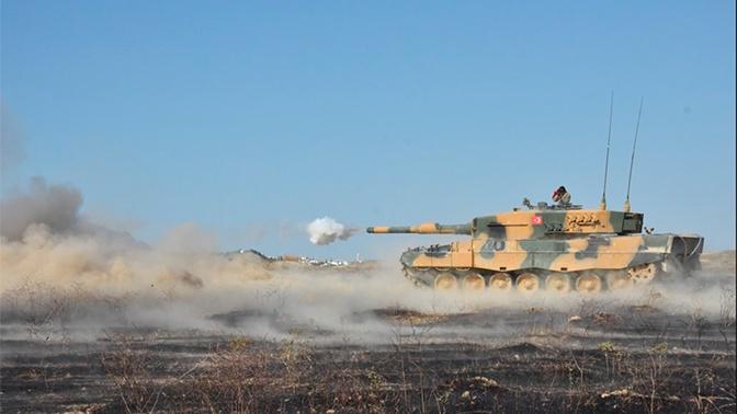 Германия отказалась от военных поставок Турции из-за операции в Сирии