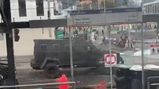 Военные Эквадора ввели запрет на передвижение
