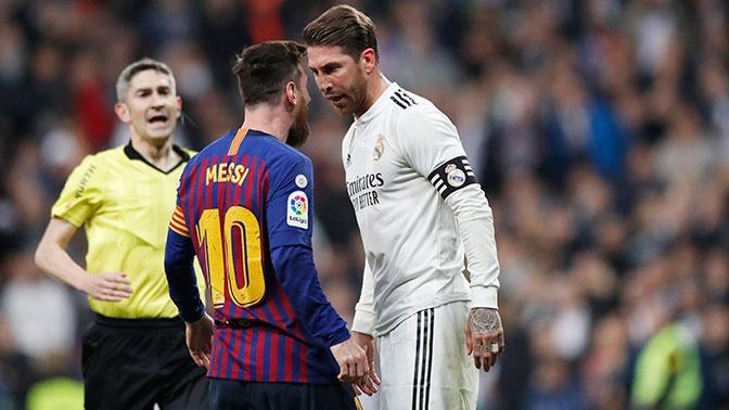 Матч «Барселоны» с «Реалом» перенесен на декабрь