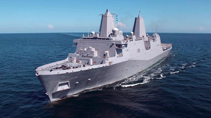 СМИ: на десантном корабле ВМС США установят первый боевой лазер