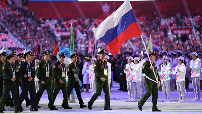 На второй день Всемирных военных игр в Китае россияне завоевали 16 наград