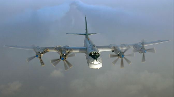Ракетоносцы Ту-95МС совершили полеты над нейтральными водами трех морей