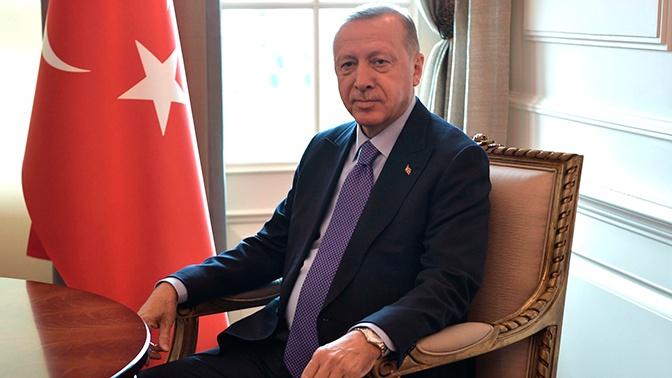 Президент Турции Эрдоган прилетел в Сочи