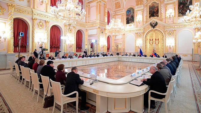 В Кремле объяснили изменения в составе СПЧ