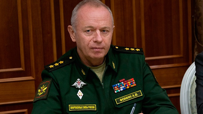 Фомин провел встречу с министром обороны ЦАР