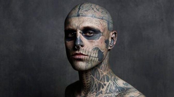 Названа реальная  причина смерти Zombie Boy: оннепокончил ссобой