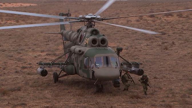 На учениях «БАРС-2019» отработали десантирование «по-штурмовому»