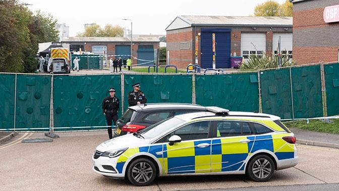 Полиция назвала гражданство 39 погибших в «грузовике смерти» в Эссексе