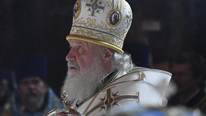 Патриарх Кирилл прекратил поминать главу Элладской церкви