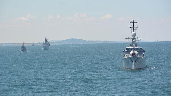 Корабли НАТО покинули порт Одессы