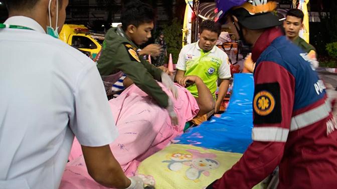 На КПП в Таиланде расстреляли 15 человек