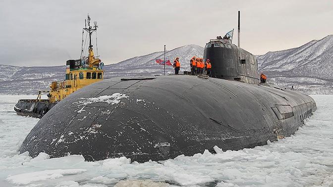 Минобороны РФ подпишет контракт на ремонт атомной подлодки «Томск»