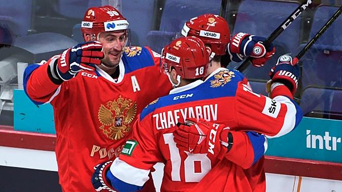 Россия одержала победу над Швецией во втором матче Кубка Карьяла