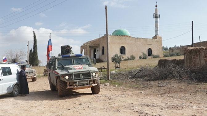 В Минобороны рассказали о маршрутах патрулирования ВС РФ в Сирии