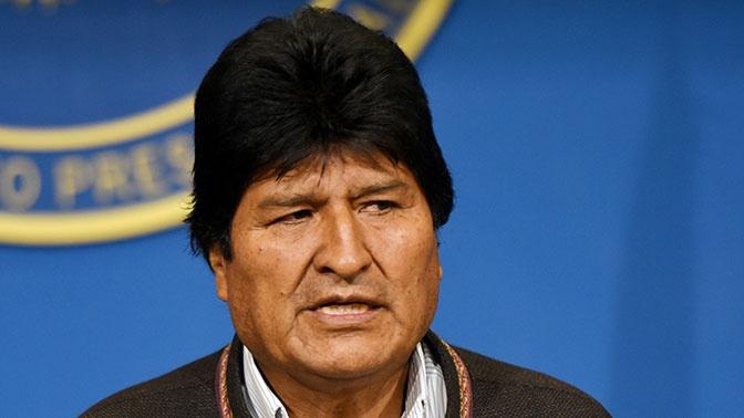 Моралес получил политическое убежище от Мексики