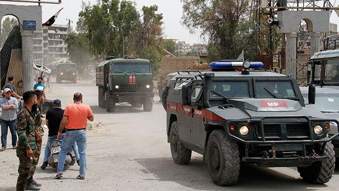 Военная полиция РФ провела патрулирование по четырем маршрутам в Сирии