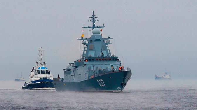 Корвет «Гремящий» выйдет на испытания в Белом море