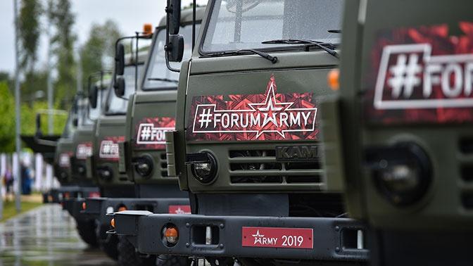 Шойгу: на «Армии-2019» подписано 46 госконтрактов на сумму свыше 1 трлн