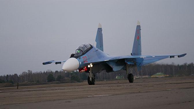 Первая партия российских истребителей Су-30СМ поступила в Белоруссию