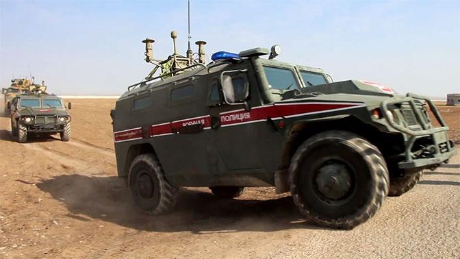 Завершено очередное российско-турецкое патрулирование на северо-востоке Сирии