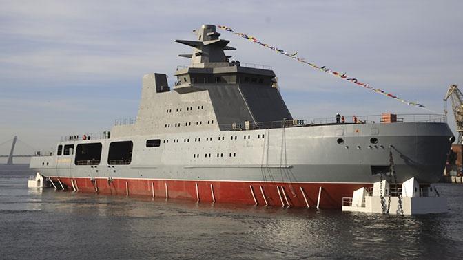 Для ВМФ России создаются вооруженные ледоколы