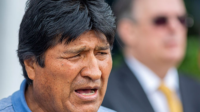 Моралес назвал условие возвращения в Боливию из Мексики