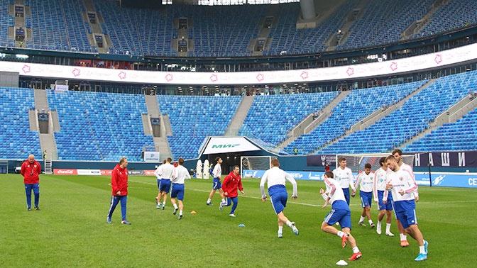 Мы завидуем такому стадиону тренер сборной Бельгии восхитился ареной в Петербурге