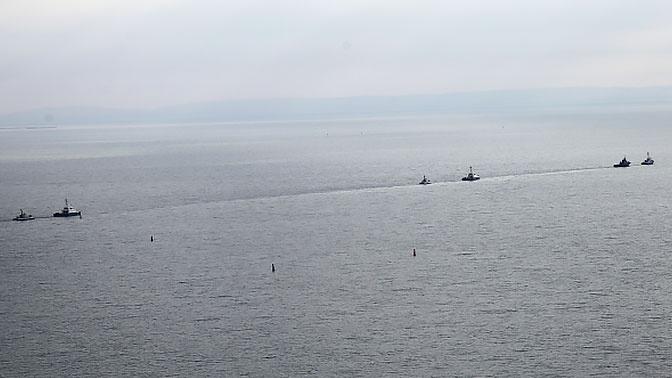 В МИД РФ подтвердили передачу Киеву трех задержанных кораблей ВМС Украины